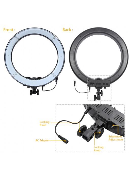 Proocam Rl 18 240pcs Beads Led Ring Light For Video Make
