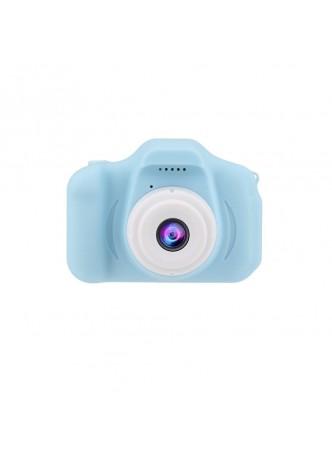PROOCAM X2000B Children Kid Mini Cute Digital Camera 2.0 Inch Toys Photo Picture Camera Camcorder Blue