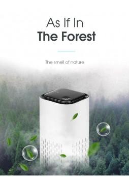 PROOCAM YYD-02 Black Air Purifier Fresher Home Auto Smoke Detector Hepa Filter Car USB