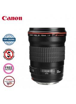 Canon EF 135mm F2.0 L USM Camera Lens (Malaysia Canon)