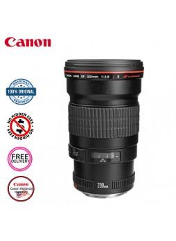Canon EF 200mm F2.8 L II USM Camera Lens (Malaysia Canon)