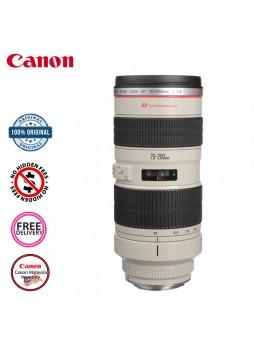 Canon EF 70-200mm F2.8 L USM Camera Lens (Malaysia Canon)