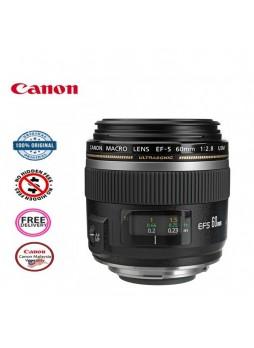 Canon EF-S 60mm f2.8 USM Autofocus Normal Macro Lens (Malaysia Canon)