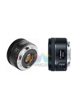 Canon EOS EF 50mm f1.8 STM Autofocus Camera Lens (Malaysia Canon)