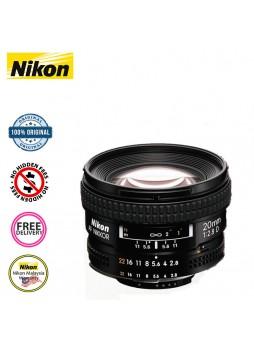 Nikon 20mm F2.8 AF Nikkor  A Camera Lens (Nikon Malaysia)