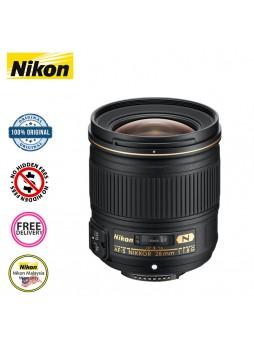 Nikon 28mm F1.8G AF-S Lens ED Autofocus Wideangle Nikkor Lens (Nikon Malaysia)