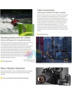 Nikon 70-200mm f4 G ED VR AFS Nikkor Zoom Lens (Nikon Malaysia)