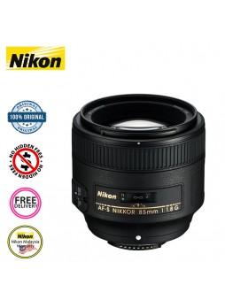 Nikon 85mm F1.8 G AF-S Camera Lens (Nikon Malaysia)