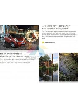 Nikon Wide Angle AF Nikkor 24mm f/2.8D Autofocus Camera Lens (Nikon Malaysia)