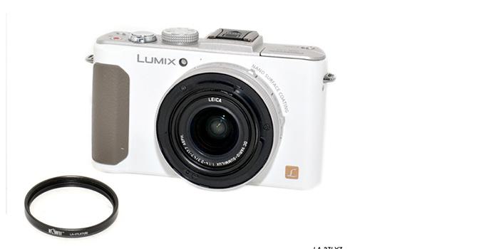 UV Filter for Panasonic Lumix DMC-LX7 Black